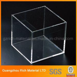 カスタマイズされた透過アクリルBox/PMMAの風防ガラスのプレキシガラスボックス