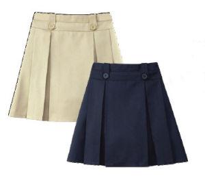 Uniforme escolar / Falda para niñas escolares -Ll-Sk01