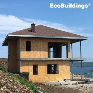 Medidor de luz económica Estructura de acero de Villa / Resort Hotel / Casa prefabricados