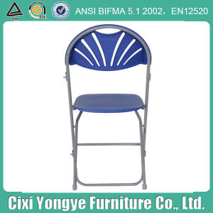 Party를 위한 금속 Frame Plastic 파란 Folding Chair