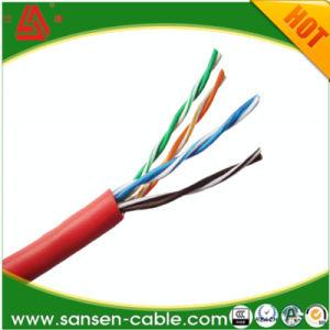 Cable de LAN CAT5e el 99,999% del cable de cobre del cable de red LSZH