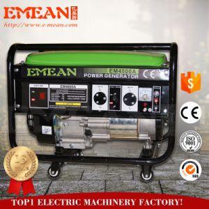 certificado CE Arranque eléctrico do grupo gerador a gasolina com saída de 6 kw
