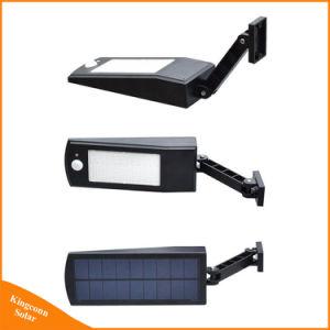LEDの屋外の太陽動力を与えられた緊急の動きセンサーの機密保護の庭の通りの壁ライト