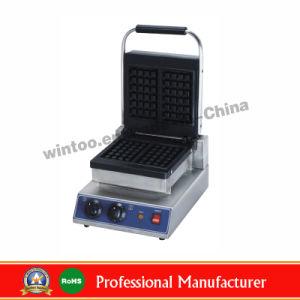 Compteur de carré en haut de la plaque double en acier inoxydable gaufré Top-Rated Baker pour