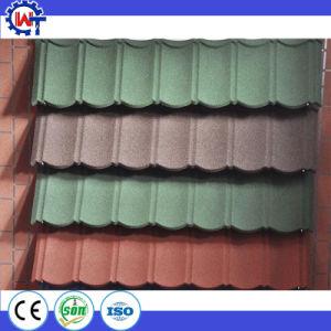 Matériau du toit de la Chambre colorée Bond couché en pierre Toit métallique