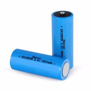 De Batterij van het Lithium van Er18505m 3500mAh 3.6V Li-Socl2 voor Ampèremeter