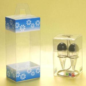 工場価格の熱い販売法のギフトのための小さく明確な印刷されたプラスチックPet/PVC/PP包装ボックス