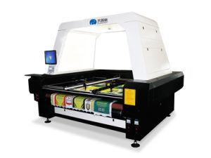CNCファブリック打抜き機/ローラーファブリックカッター機械自動挿入レーザーのカッター