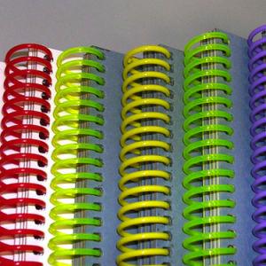 プラスチック螺線形の螺旋綴じ