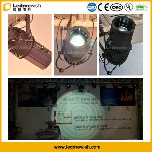 Roating Gobo White LED 3D el proyector exterior de la luz de Gobo