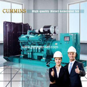 Grande gerador diesel 1000kw Estrutura Aberta Grupo Gerador Diesel Cummins