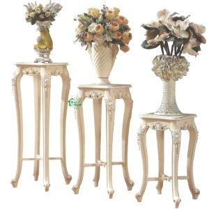 Soporte de la flor y el Gabinete de madera para muebles de comedor establece