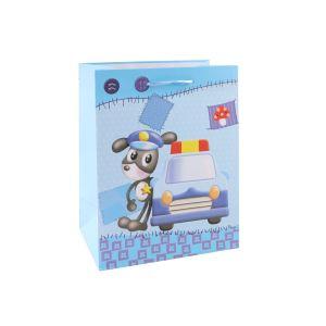 Детей в китайском стиле с покрытием - подарочные бумажные пакеты
