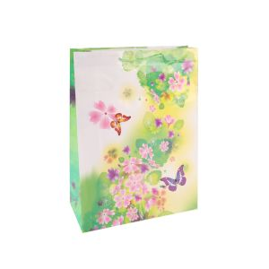Мода праздник Green Grid - бумажные мешки подарков с покрытием