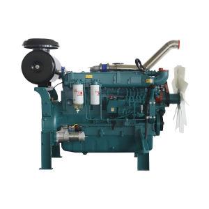 Наиболее востребованных новое условие 6 цилиндров дизельного двигателя водяного охлаждения с электроприводом для запуска генераторной установки с сертификат CE