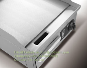 Haute qualité en acier inoxydable de petite taille tous les lève-Griddle Tous les plats de la plaque de chauffage (GT280)