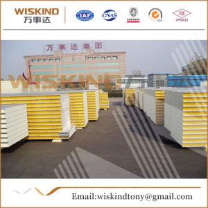 Los materiales de construcción de paneles sándwich de poliuretano resistente al agua para la estructura de acero