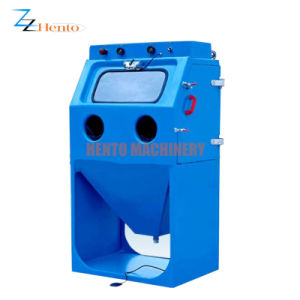 Nettoyage de plaque en acier auto Sandblast/sablage/grenaillage Machine