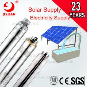 Com o Sistema Solar 12V 24V 6 polegada para irrigação do Motor da Bomba de perfuração