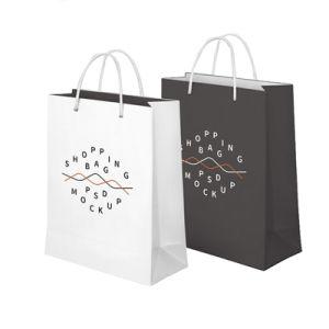 포장을%s 인쇄되는 아트지 쇼핑 백 디자인