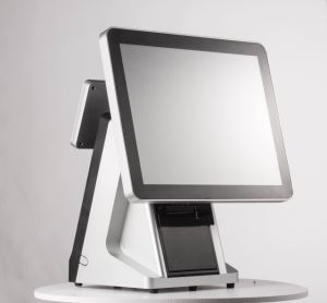 Pos-C15 het Scherm van de Aanraking van het Systeem van vensters allen in Één POS Kasregister met Ingebedde Printer
