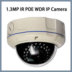 macchina fotografica Vandalproof della cupola di sorveglianza del CCTV del IP IR Ik10 di 1.3MP WDR