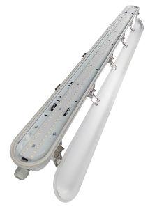 IP66 impermeabilizzano l'indicatore luminoso lineare della lampada 3FT 6FT 7FT LED, indicatore luminoso stretto del vapore, indicatore luminoso della Tri-Prova del LED, indicatore luminoso del vapore, indicatore luminoso Pendant del LED, ETL Dlc