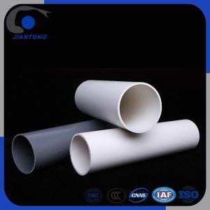 Le plastique PVC/tube PVC-U avec couleur blanc/gris