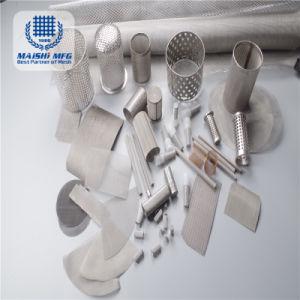 Gesponnenes Ineinander greifen kundenspezifisches Größen-Edelstahl-Ineinander greifen-Rohr