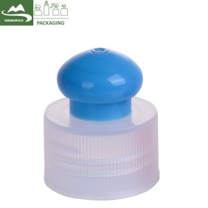 Capuchon en plastique blanc Flip Top Non Haut de la vis bouchon de déversement pour le PET flacons de lotion