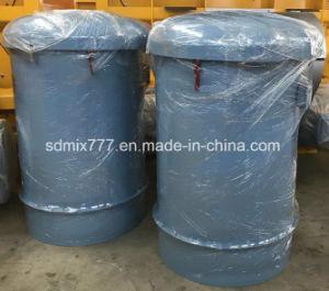 Filtro dalla polvere per il silo di cemento sulla pianta d'ammucchiamento concreta