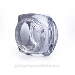5g金か銀製のリップを搭載する贅沢なデザイン小型の高品質のプラスチック瓶