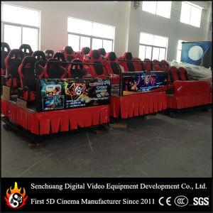 Retour haut de la machine de jeu- simulateur 3D dynamiques Cinema 4D 5D