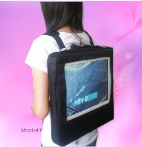 17'' Backpack LCD Advertisng Player