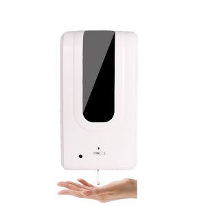 Desinfección automática de la mano del Sensor de líquido antivirus higienizador Alcohol dispensador de jabón Spray