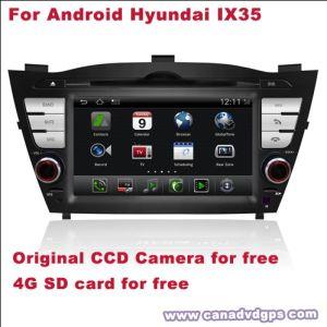 Carta Android di deviazione standard della macchina fotografica del CCD di BACCANO IX35 DVR WiFi 3G del doppio dell'autoradio per migliore servizio Shipping+Gift libero di migliore qualità libera per Hyundai