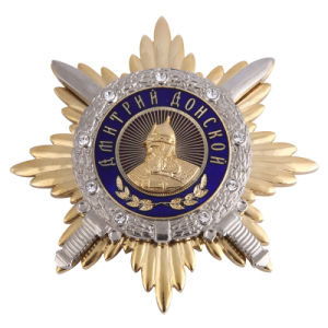 Diamond, Military Badge를 가진 상류 Police Badge