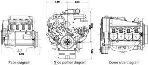 Hot Sale Deutz F4l912 Diesel Engine Made in China
