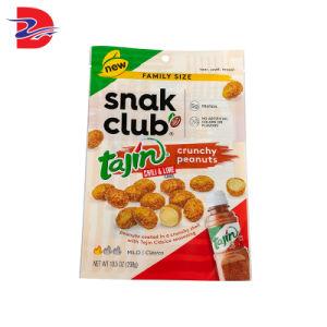 Fabricante OEM de sellado de la presión de Stand up Pouch de plástico grado alimenticio Envasado de Alimentos Snack bolsa con cremallera