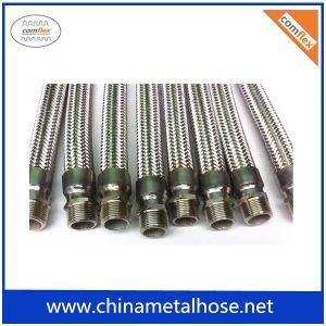 Collegare ondulato dell'acciaio inossidabile che intreccia il tubo flessibile del metallo flessibile