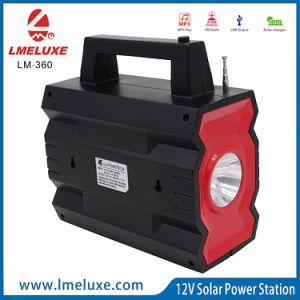 Nueva Energía Energía Solar LED Light con cargador de teléfono USB