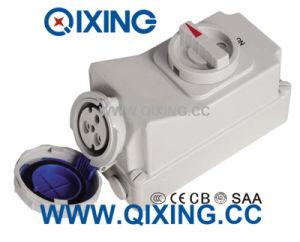 macchina elettrica blu dello zoccolo dell'interruttore IP67 di 16A 3p