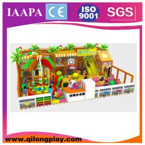 El tema de la selva Kids Adventure Playground Equipment (QL-17-16)