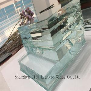 15mm/Vidro Ultratransparente/vidro float para fachadas de vidro transparente