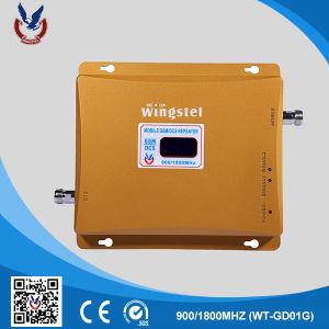 De Banda dual GSM/WCDMA repetidor de señal de uso doméstico 900/2100MHz 2G/3G Amplificador de alta calidad