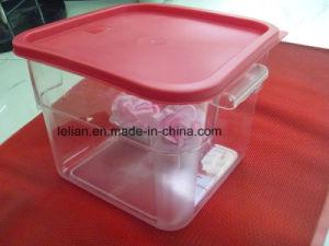 Contenitore di memoria di plastica dell'alimento per la mobilia domestica della cucina