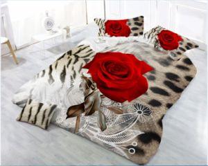 Home Produtos Têxteis 3D Bedsheet Edredão Conjunto da Tampa