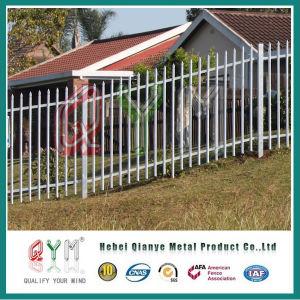 Verwendete Palisade-Zaun galvanisierte Stahlgartentor
