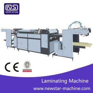 Sguv-660UN UV automática máquina de recubrimiento completo con el papel líquido UV