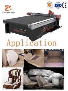 De de automatische Machine van de Versiering van de Auto Flexibele Materiële Digitale Scherpe of CNC Plotter van de Snijder